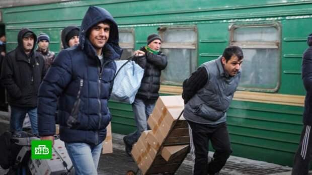 Мигрантов в Россию хотят возить чартерными поездами