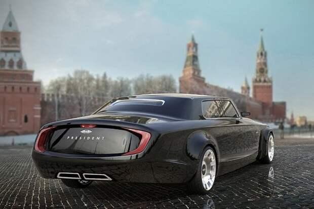 Интересные факты о новом автомобиле Путина (ВИДЕО)