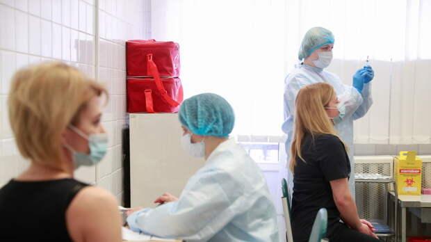 На Украине рассказали о ходе кампании по вакцинации населения