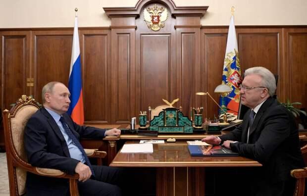 Президент Владимир Путин поддержал идею развития авиаузла в Красноярске