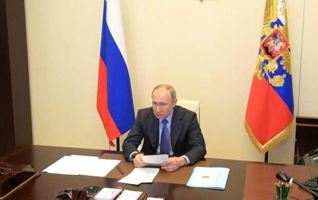 Путин потребовал выделить предприятиям живые деньги и кредиты на зарплату сотрудникам и расчеты с поставщиками