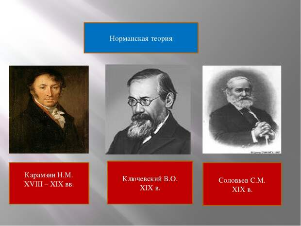 Три главных пробела норманнской теории