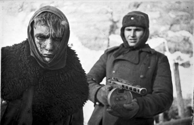Как русский солдат немца съел