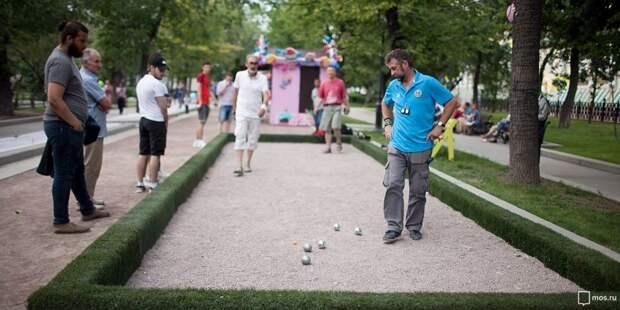В Малом Коптевском проезде пройдут соревнования по петанку