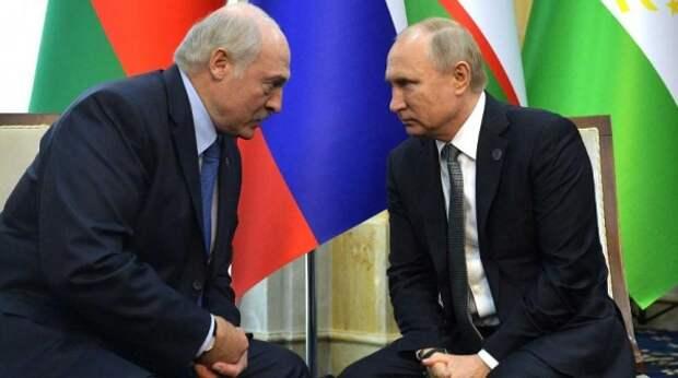 Лукашенко рассказал Путину о скандале с самолетом Ryanair