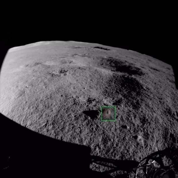 Китайский луноход обнаружил на обратной стороне Луны странные камни