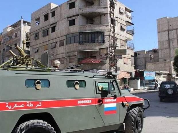 Российские силовики развернули колонну с военными США в Сирии