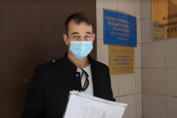 Дмитрий Певцов подал документы на выдвижение в Государственную Думу / Фото: Кирилл Журавок