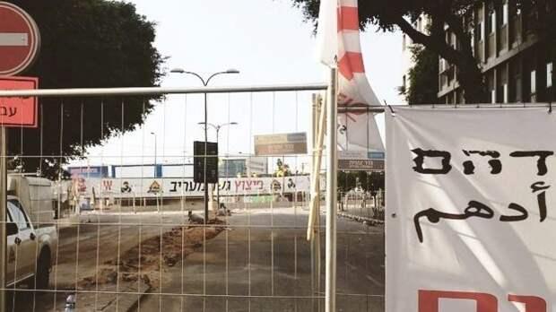 Автомобиль с палестинскими номерами попытался наехать на солдат Израиля