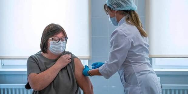 Собянин объявил о запуске розыгрыша квартир среди прошедших вакцинацию. Фото: М. Мишин mos.ru