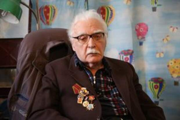 94-летний ветеран из Ростокина привился от коронавируса