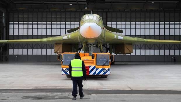 Опытный образец самолета Ту-160М2