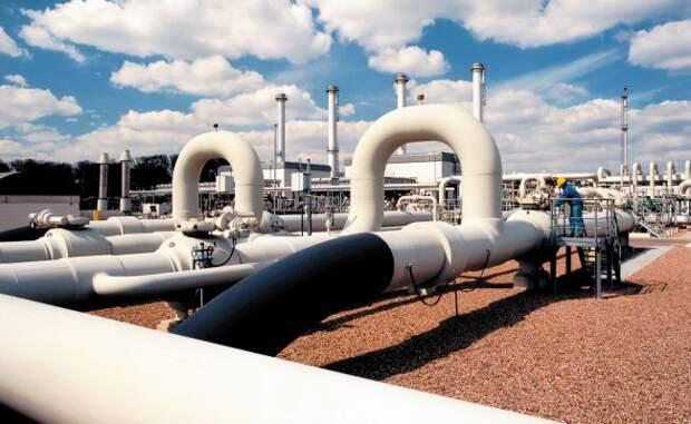 «Газпром» выжал свои запасы вевропейских хранилищах почти досуха