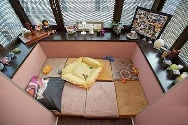 Балконное гнёздышко