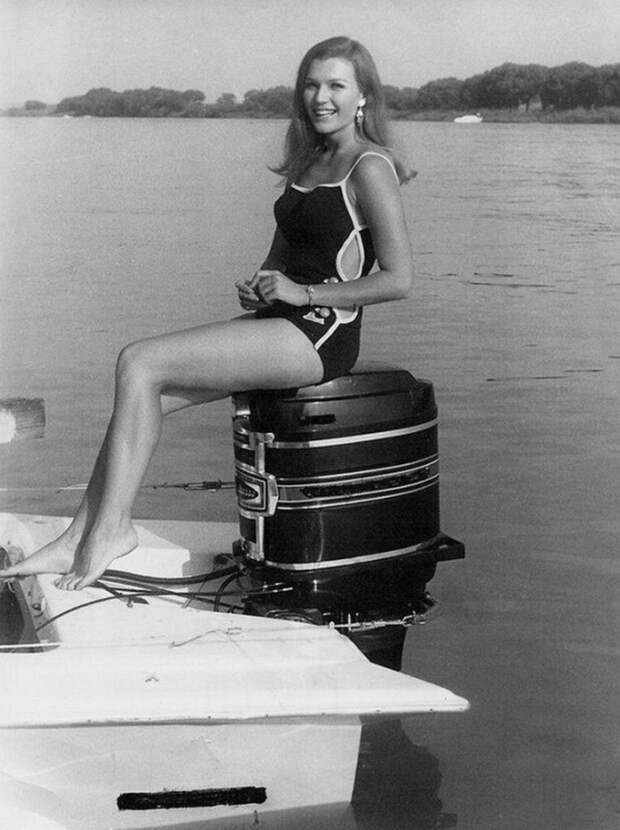 Мать основателя Tesla Илона Маска, модель и диетолог Мэй Маск. ЮАР, 1969 год
