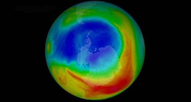 Неожиданная польза от глобального потепления: озоновая дыра стала меньше