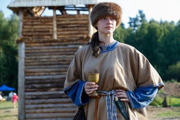 Светлана Федорова. Капитан женской сборной по историческому средневековому бою.