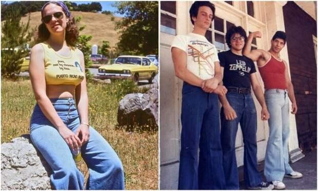 Клеши: писк моды 70‑х и символ десятилетия