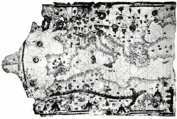 Старые и подробные карты, которые ставят в тупик некоторых историков