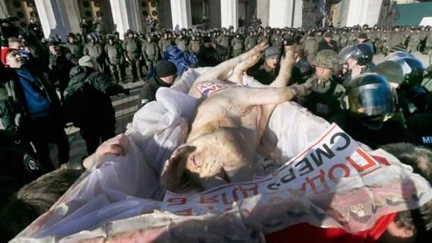 Украина: крушение власти или крах войны