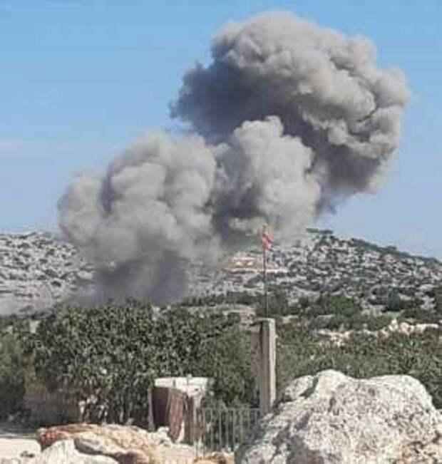 ВКС РФ начали бомбить в Сирии территорию вокруг турецких военных баз
