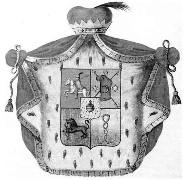 герб князей Черкасских