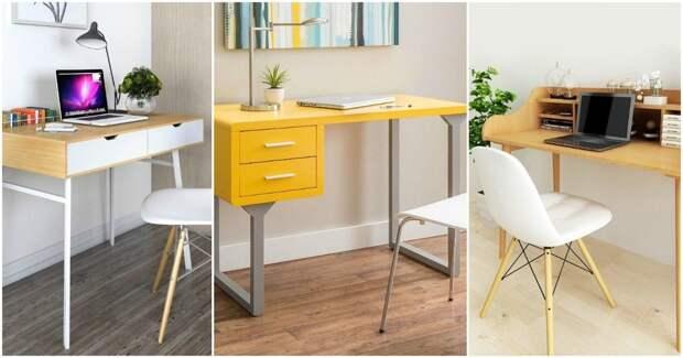10 модных столов со встроенным хранилищем
