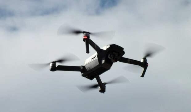 """В Ленобласти 300 дронов составили в небе фразу """"защитим ветеранов"""""""