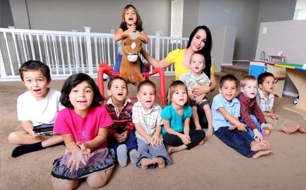 Десять негритят— теперь это мировой рекорд одновременного рождения детей