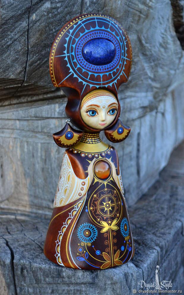 Берегиня.Кукла из дерева.Обереговая кукла.Ангел хранитель, Статуэтки, Сумы, Фото №1