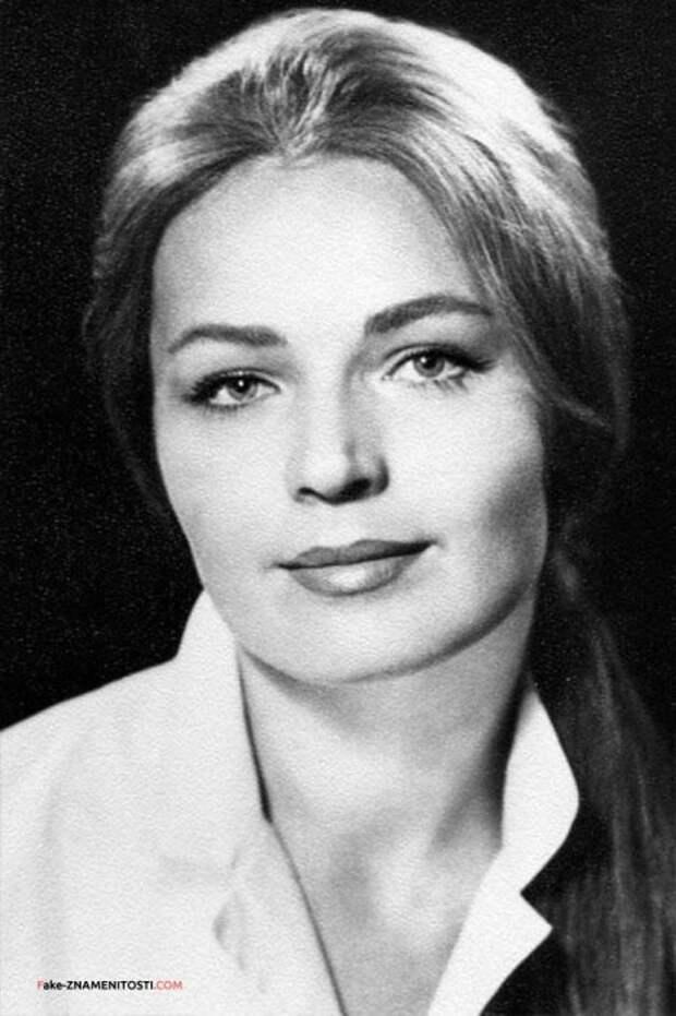 Людмила Чурсина в молодости. / Фото: www.stuki-druki.com