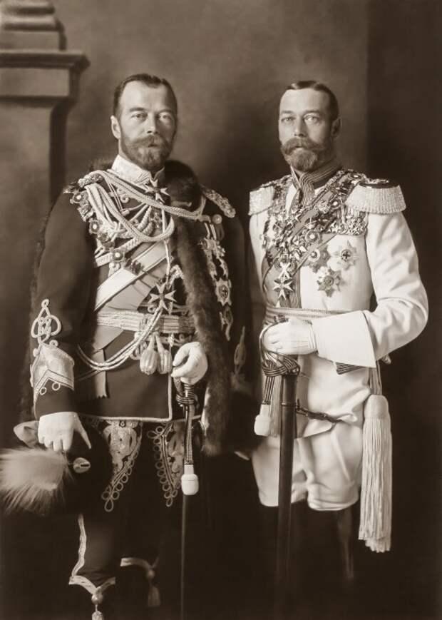 Почему король Великобритании Георг V отказался спасать своего двоюродного брата Николая II