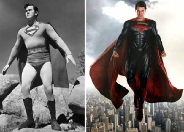 Кто все эти люди: как супергерои выглядели в прошлом
