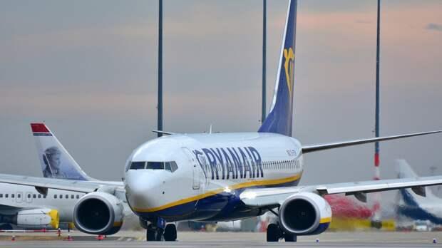 ICAO начала расследовать инцидент с самолетом Ryanair