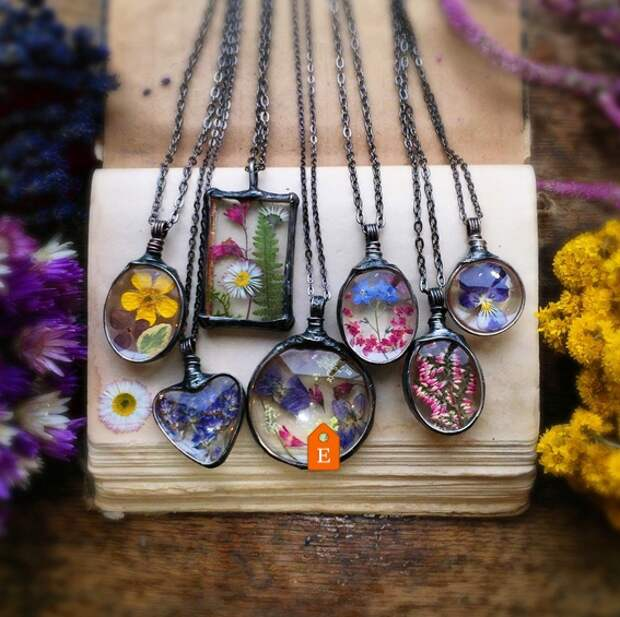 Цветы, стекло и кружево (подборка)
