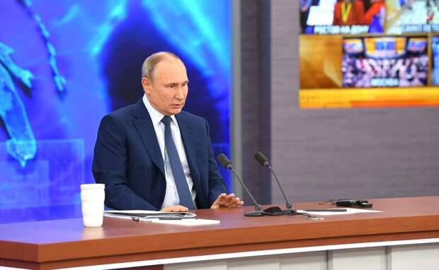 Путин прокомментировал акции в поддержку Навального (ВИДЕО)