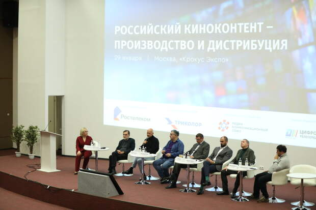 Сергей Сельянов и Фёдор Бондарчук обсудили актуальные вопросы производства ТВ- и киноконтента