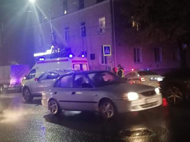В центре Рязани сбили пешехода