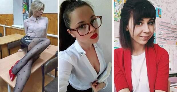 Эффектные учительницы, ради которых мужчины ходят на родительские собрания 1 сентября, девушка, красота, родители, учеба, учитель, школа
