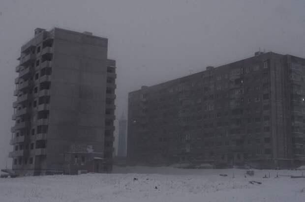 Жизнь за 69 параллелью: лунные пейзажи Норильска Красноярский край, виды, город, крайний север, норильск, пейзаж, эстетика