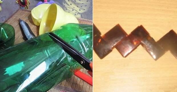 поделки из пластиковых бутылок мастер-класс