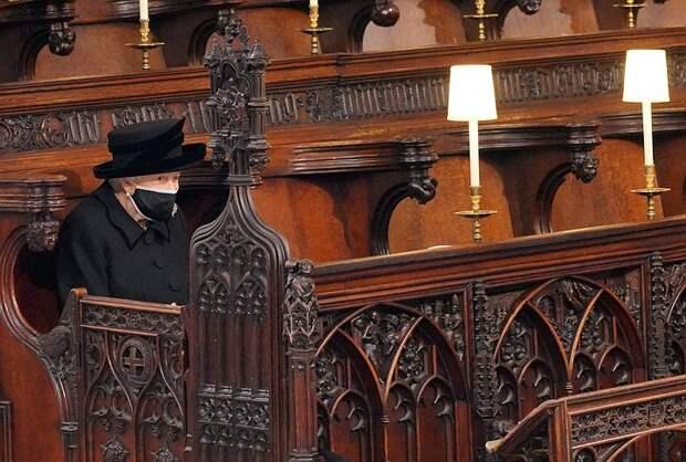Гарри и Уильям на похоронах принца Филиппа шли порознь