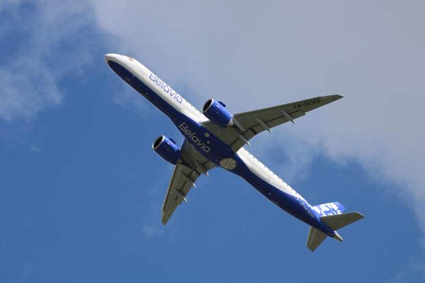 Пассажирский самолёт Belavia подал сигнал бедствия