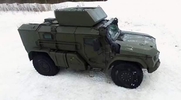 Мобильность и ударные возможности авиадесантируемого бронеавтомобиля Тайфун-ВДВ
