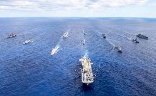 Учения ВМС США Large Skale Exercise: Пентагон пытается разом «вскипятить» весь Мировой океан