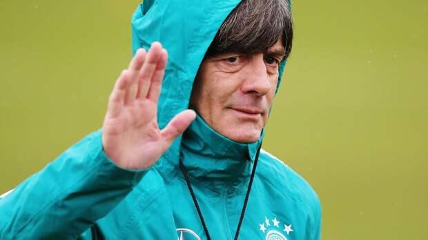 Лев не будет уволен с поста тренера сборной Германии даже в случае вылета из группы на Евро-2020