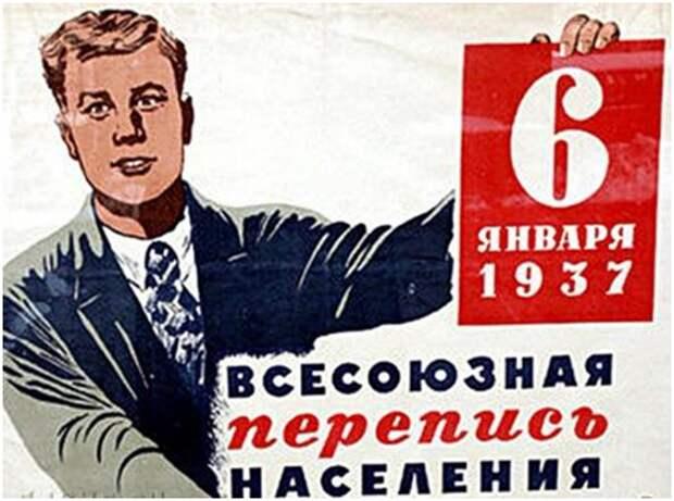 Сталинская  карательно-репрессивная  перепись населения