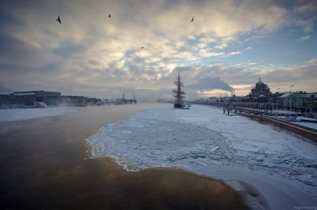 Нева - канал. Мариинская водная система