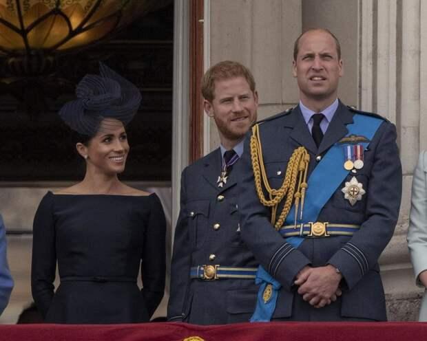 Принц Уильям помирился с братом