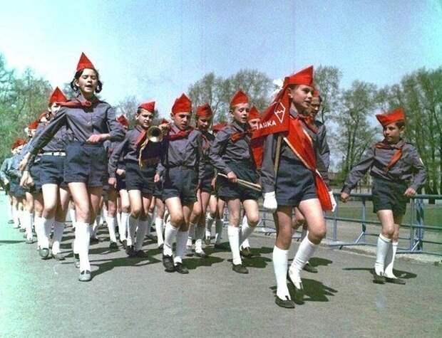 Пионерский отряд. 1970-е. история, события, фото